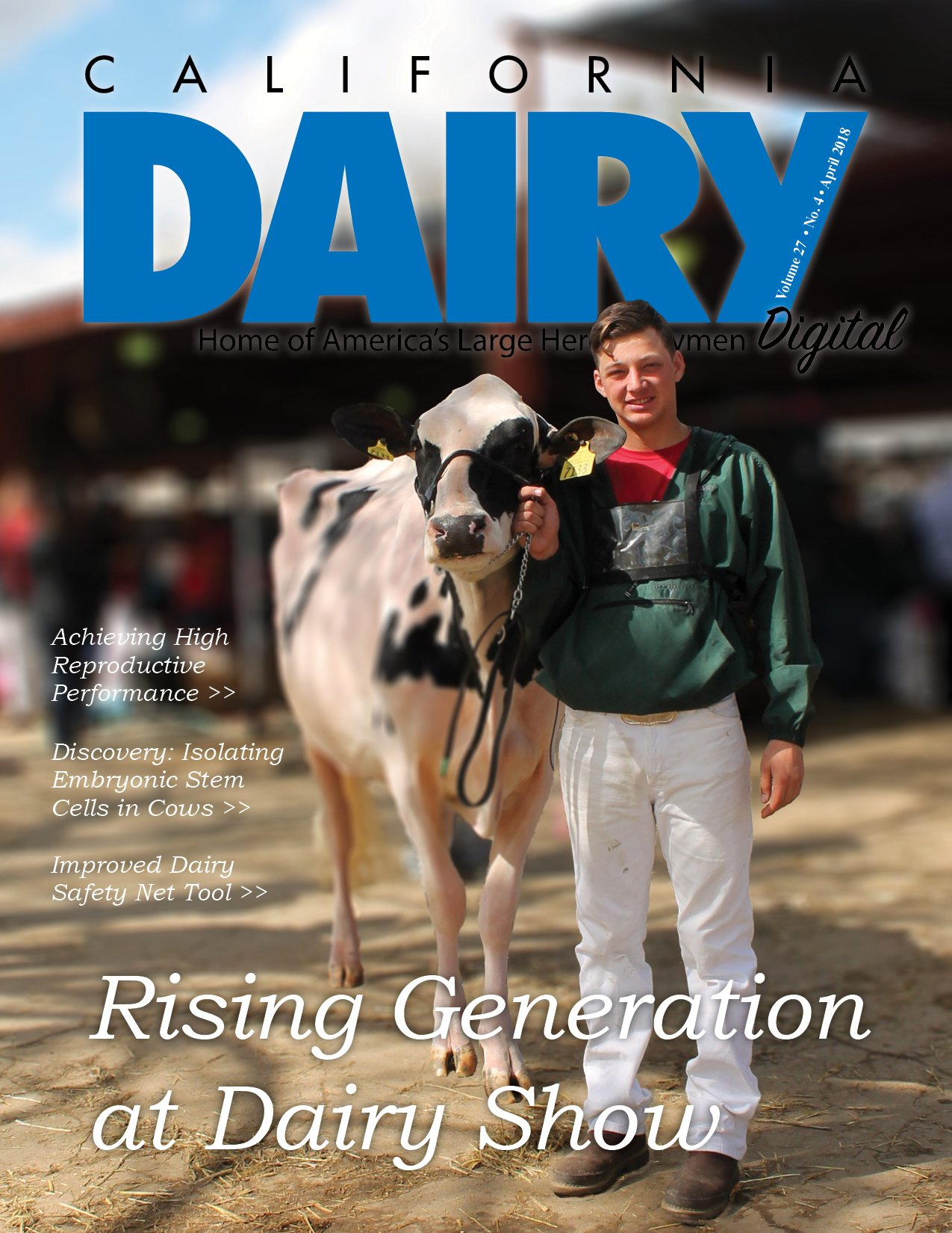 California Dairy Magazine April 2018 Issue