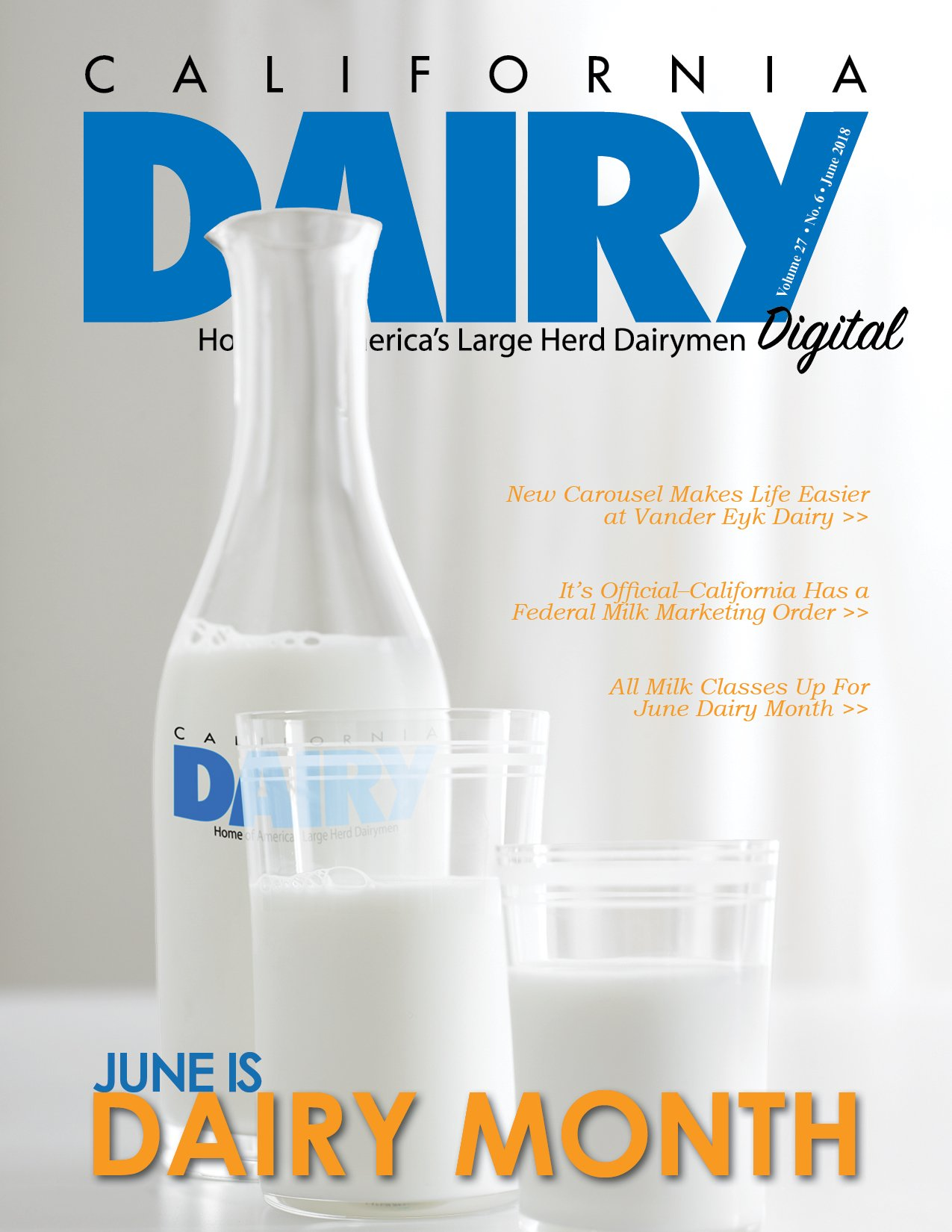 California Dairy Magazine June 2018 Issue